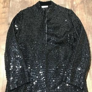 Vintage Saks Fifth Avenue Brand Sequin Embellished